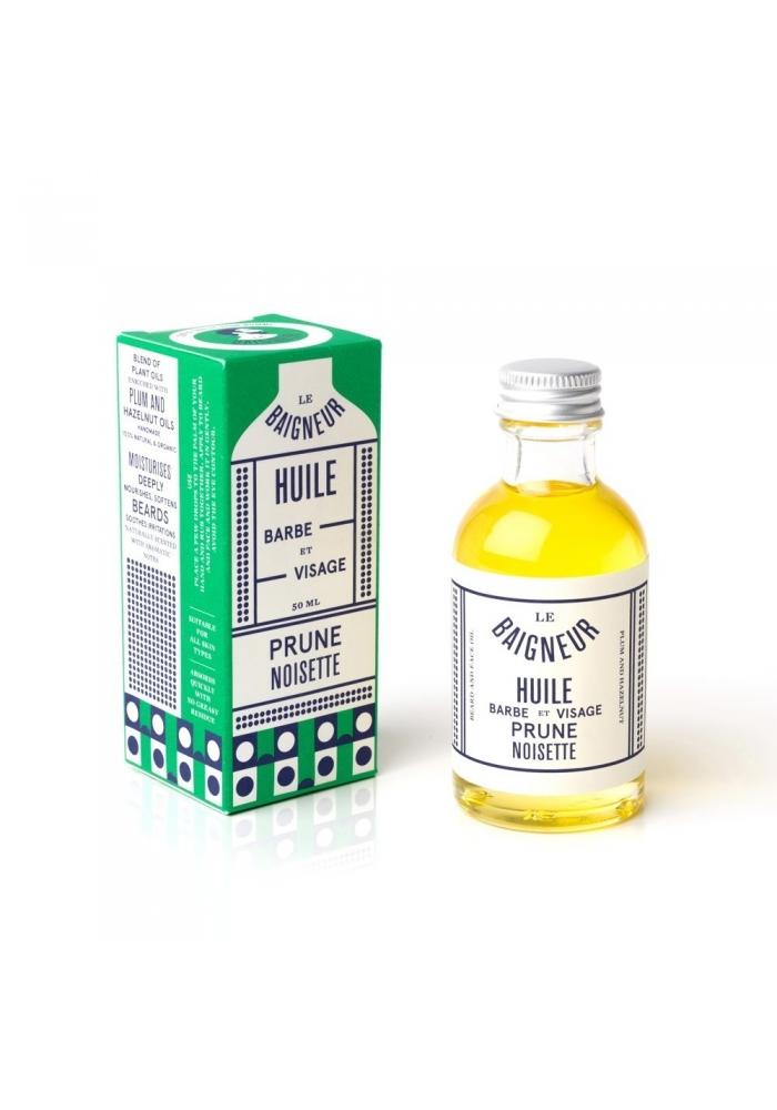 LE BAIGNEUR - Huiles à barbe/visage 50 ml